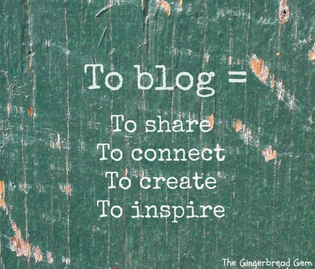 what does blogging means